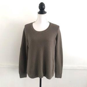 Madewell Large Green Riverside Sweater # F3447